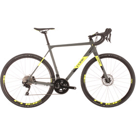 Cube Cross Race Pro, grey'n'flashyellow